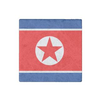 North Korea Stone Magnet
