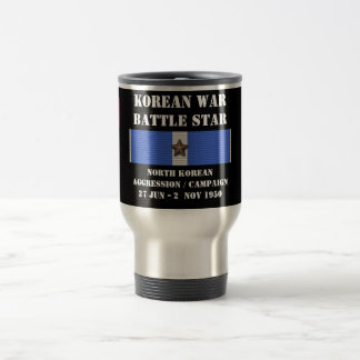 North Korean Aggression Campaign Travel Mug
