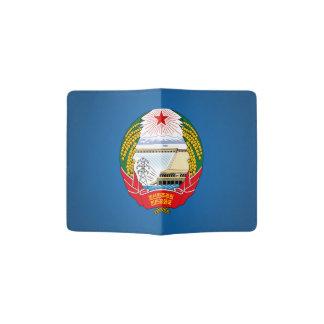 North Korean emblem Passport Holder