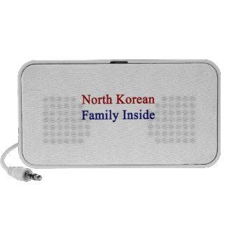 North Korean Family Inside Travel Speaker