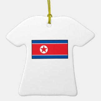 North Korean Flag Ornament