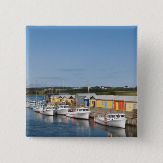 North Lake Harbour, Prince Edward Island. 15 Cm Square Badge