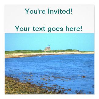 North Light Block Island Personalized Invites