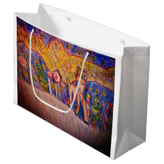 North light Deer Large Gift Bag