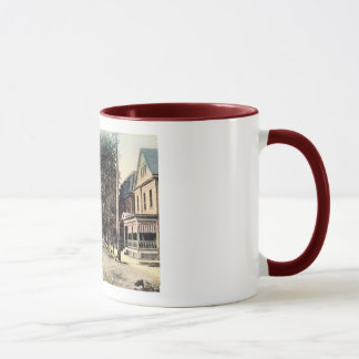 North Main St., Lambertville, New Jersey Vintage Mug