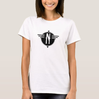 North Map Symbol T Shirt