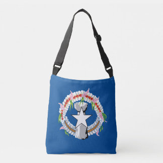 North Mariana Islands Flag Crossbody Bag