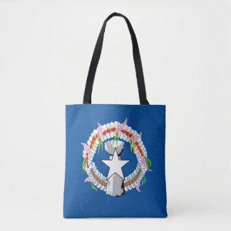North Mariana Islands Flag Tote Bag