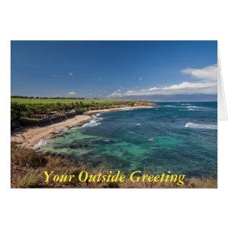 North Maui Shore Card