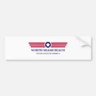 North Miami Beach Pride Bumper Sticker