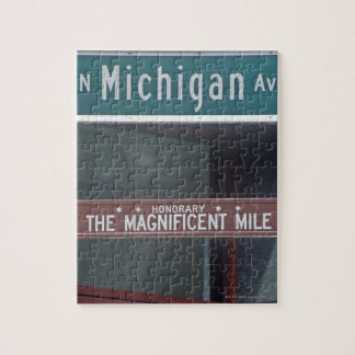 'North Michigan Avenue and The Magnificent Mile Jigsaw Puzzle