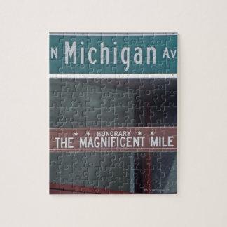 'North Michigan Avenue and The Magnificent Mile Puzzle