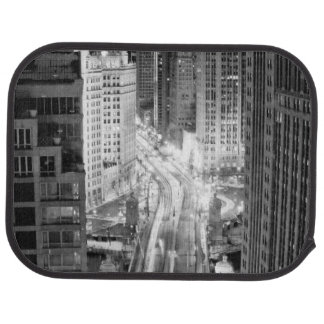 North Michigan Avenue in Chicago after winter Car Mat