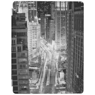 North Michigan Avenue in Chicago after winter iPad Cover