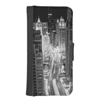North Michigan Avenue in Chicago after winter iPhone SE/5/5s Wallet Case
