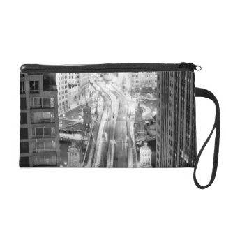 North Michigan Avenue in Chicago after winter Wristlet