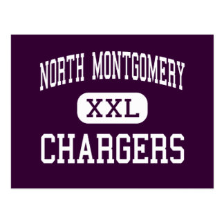North Montgomery - Chargers - Crawfordsville Postcards
