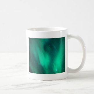 North moving Borealis picture green sky night Mugs