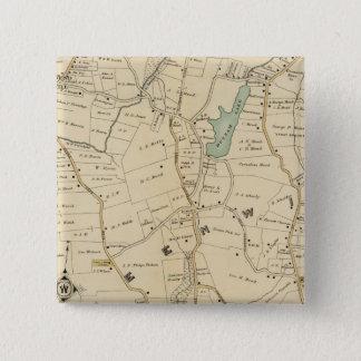 North New York City 2 15 Cm Square Badge