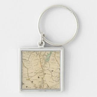 North New York City 2 Key Ring