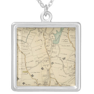 North New York City 2 Silver Plated Necklace