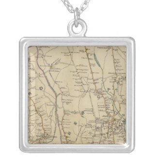 North New York City 3 Silver Plated Necklace