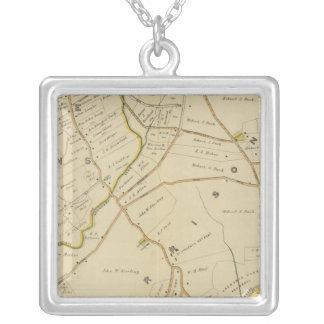 North New York City 3 Square Pendant Necklace