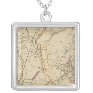 North New York City 4 Silver Plated Necklace