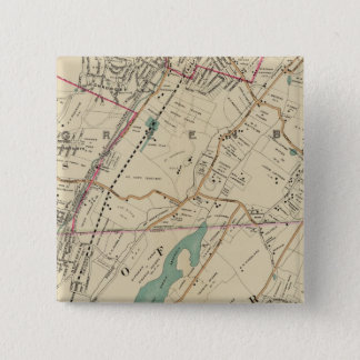 North New York City 5 15 Cm Square Badge