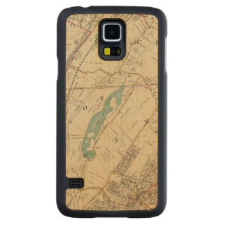 North New York City 5 Carved Maple Galaxy S5 Case