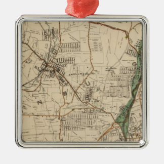 North New York City 5 Christmas Ornament