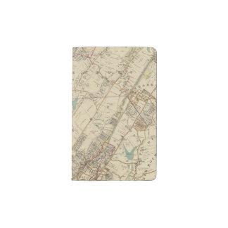 North New York City 5 Pocket Moleskine Notebook
