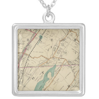 North New York City 5 Silver Plated Necklace