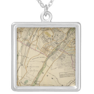 North New York City 6 Silver Plated Necklace