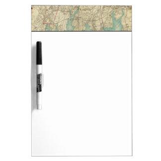 North New York City 7 Dry Erase Board