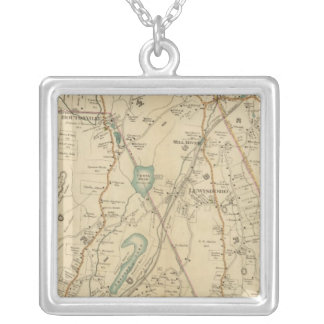 North New York City 7 Silver Plated Necklace