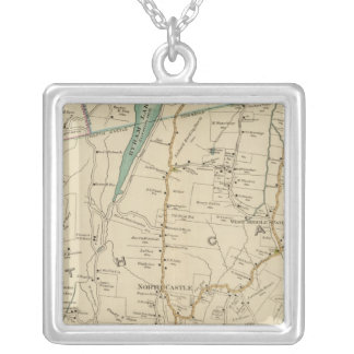 North New York City Silver Plated Necklace