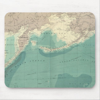 North Pacific Ocean Mouse Mat