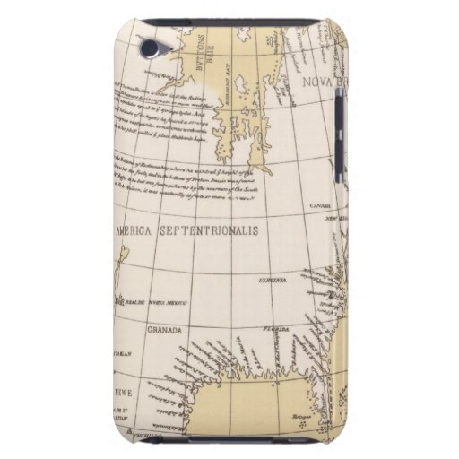 North part of America, 1625 iPod Touch Case-Mate Case