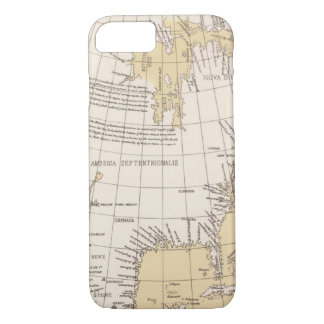 North part of America, 1625 iPhone 8/7 Case