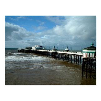 North Pier Blackpool Post Card