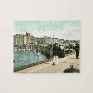 North Pier, Bridlington (1905) Jigsaw Puzzle