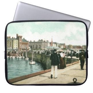 North Pier, Bridlington (1905) Laptop Cover