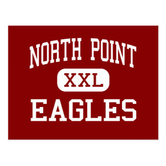 North Point - Eagles - High - Waldorf Maryland Postcard