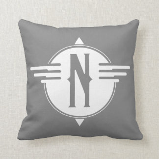 North Pointer Map Symbol Pillow