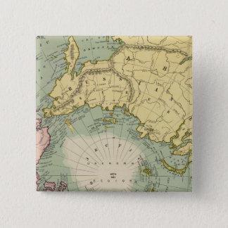 North Polar Regions 15 Cm Square Badge