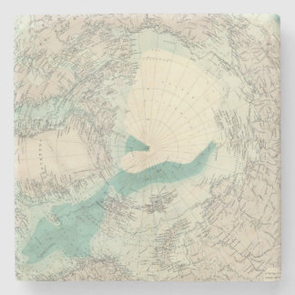 North Polar regions 2 Stone Coaster
