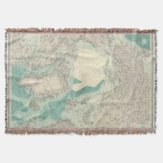 North Polar regions 2 Throw Blanket