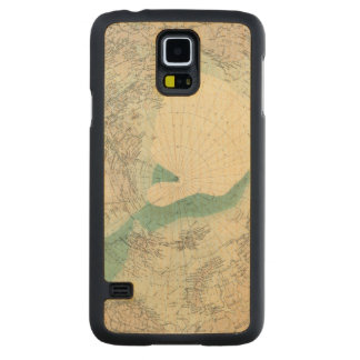 North Polar regions Carved Maple Galaxy S5 Case