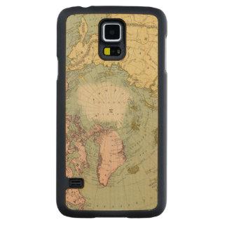 North Polar Regions Carved Maple Galaxy S5 Case